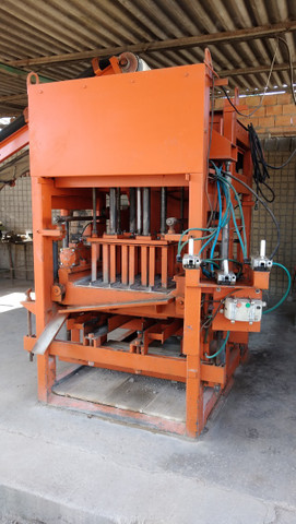 Máquina de Bloco e Compressor 15 hp - Foto 2