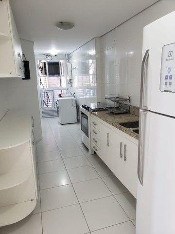 (Condomínio Bellagio) apartamento c/ 3 suítes + 147m², mobiliado - Foto 2