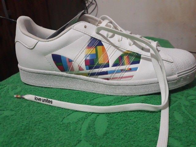 Tenis adidas novo , unissex - Foto 4