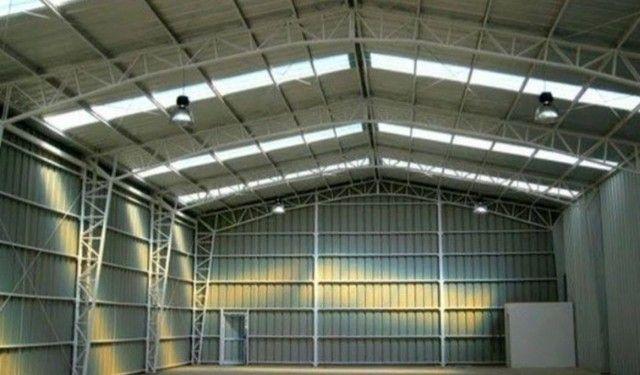 Galpões- estrutura metálica - coberturas Pergolados  - Foto 3