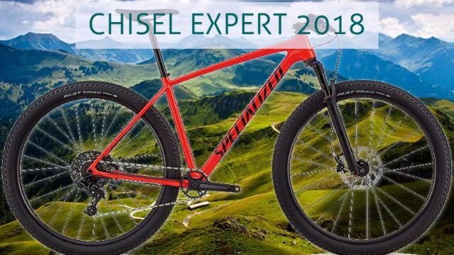Specialized Chisel 2018 Tamanho S