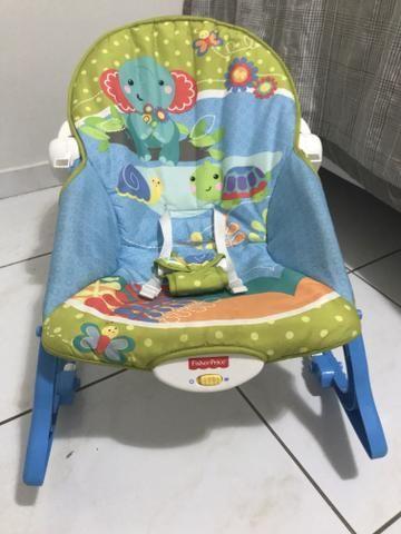 Cadeira balanço Fisher Price