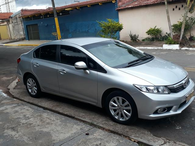 Honda civic lxr 2014 flexone 2.0 prata
