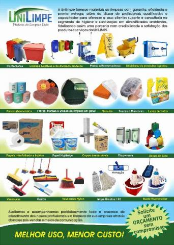 Produtos químicos limpeza profissional Hospitalar -Cozinhas -Ind Alimenticia - Condominios