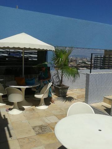 Apartamento, mobiliado em Fortaleza na praia de Iracema - Foto 10