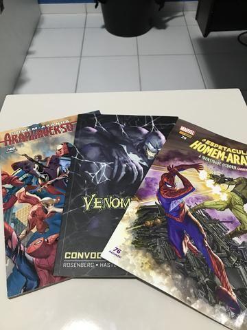 3 HQs Venomverso, Aranhaverso, Homem-Aranha