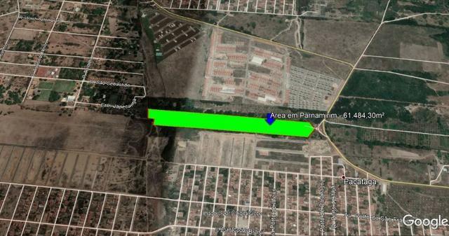 Área para Venda em Parnamirim 61.484,30m² (6ha )