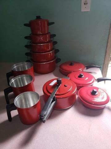 Jogo completo pra cozinha 12 peças PROMOÇÃO