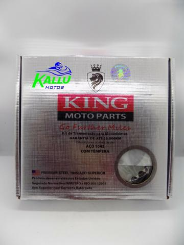 Kit relação xr 200 nx 200 niteroi moto kallu motos - Foto 3