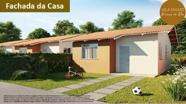 Vendo Linda Casa no Vila Smart Brisas do Rio 02 quartos com 39,62m2