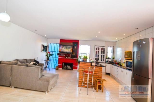 Villarinho vende casa com 3 dormitórios, 1 suíte,124 m² aréa const- terreno 300m² -600.000 - Foto 8