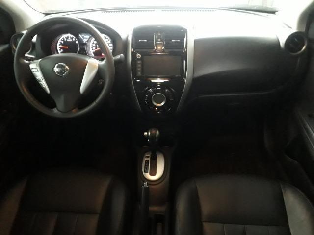 Nissan versa SL 1.6 CVT FLEX C/ 9000 MIL KM - Foto 7