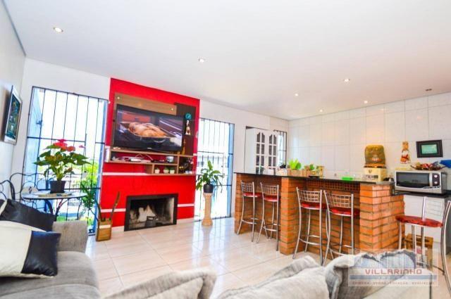 Villarinho vende casa com 3 dormitórios, 1 suíte,124 m² aréa const- terreno 300m² -600.000 - Foto 4