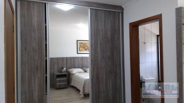 Villarinho vende excelente casa com 3 suítes c/piscina, 2 vagas- 223 m² por r$ 650.000,00  - Foto 13