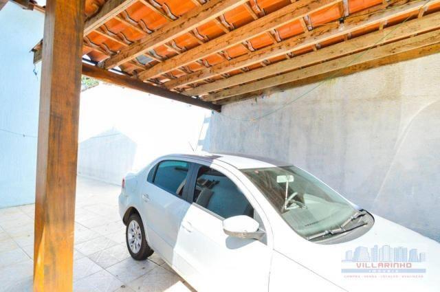 Villarinho vende casa com 3 dormitórios, 1 suíte,124 m² aréa const- terreno 300m² -600.000 - Foto 19