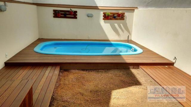 Villarinho vende excelente casa com 3 suítes c/piscina, 2 vagas- 223 m² por r$ 650.000,00  - Foto 8