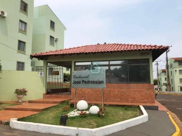 Apartamento com 3 dormitórios à venda, 52 m² por R$ 150.000,00 - Monte Castelo - Campo Gra