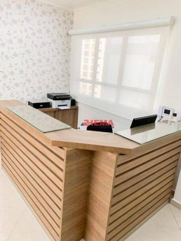 Sala à venda, 78 m² por R$ 590.000,00 - Gonzaga - Santos/SP - Foto 10