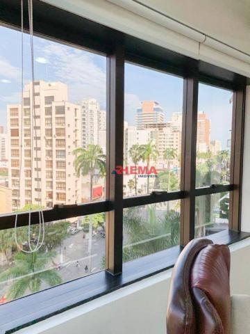 Sala à venda, 78 m² por R$ 590.000,00 - Gonzaga - Santos/SP - Foto 3