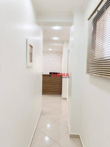 Sala à venda, 78 m² por R$ 590.000,00 - Gonzaga - Santos/SP - Foto 14