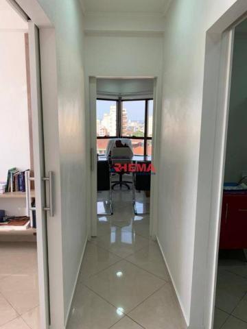 Sala à venda, 78 m² por R$ 590.000,00 - Gonzaga - Santos/SP - Foto 18