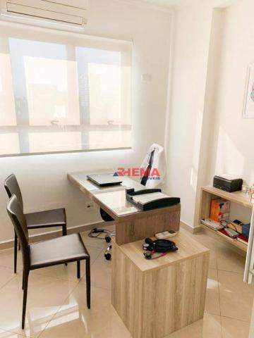 Sala à venda, 78 m² por R$ 590.000,00 - Gonzaga - Santos/SP - Foto 16