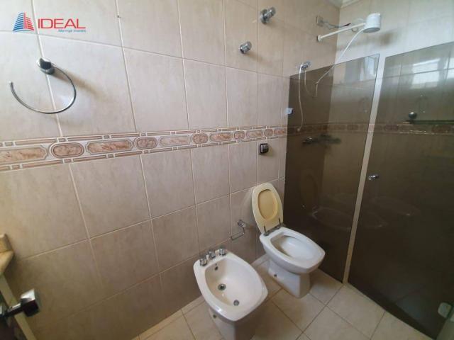 Apartamento com 4 dormitórios para alugar, 240 m² por R$ 2.700,00/mês - Zona 01 - Maringá/ - Foto 17