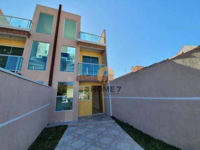 Sobrado à venda, 90 m² por R$ 320.000,00 - Sítio Cercado - Curitiba/PR - Foto 2