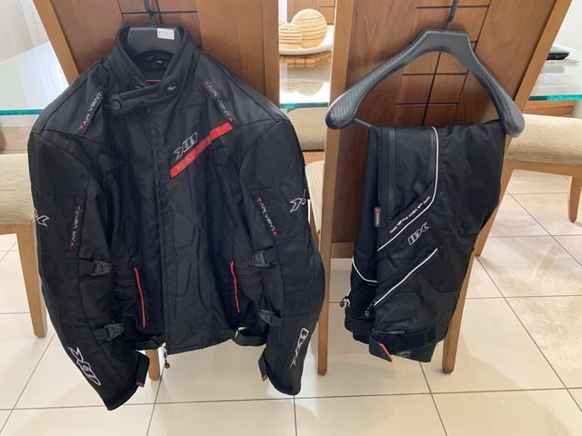 Conjunto X11: Jaqueta Evo 3 + Calca Extreme Air + Luva Dry Supertech - Foto 4