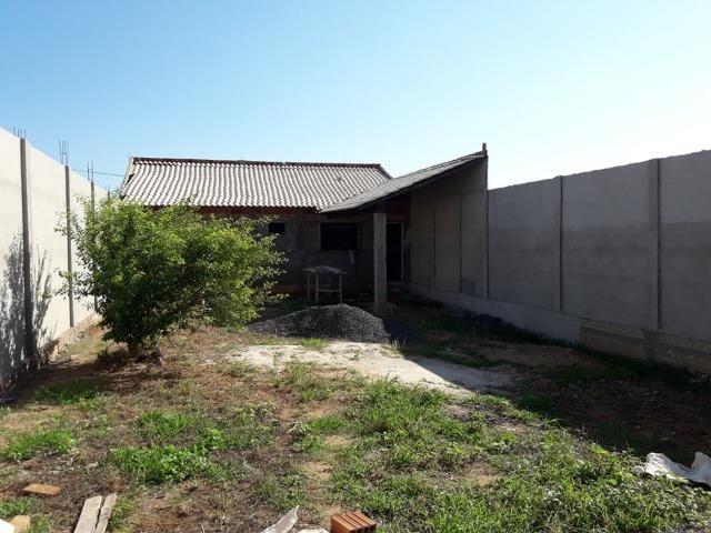 Casa em construçao ,terreno a pagar - Foto 2