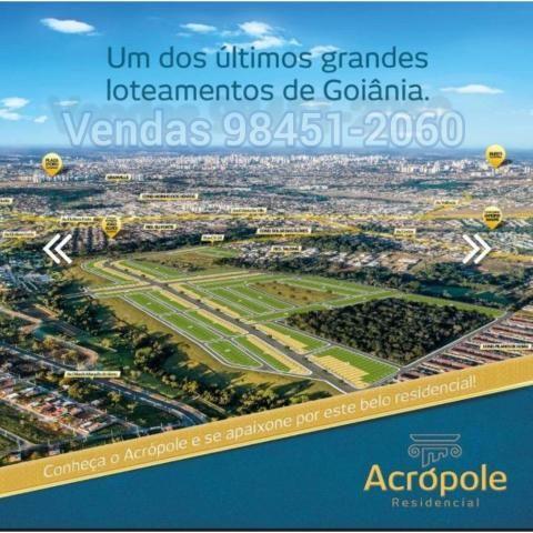 Residêncial Acrópole Loteamento em Goiânia - Foto 7