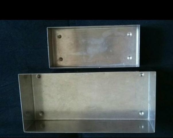 Caixas em aço inoxidável - Foto 2