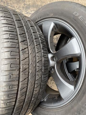 Rodas Hilux aro 20 Toyota ( rodas e pneus) menor valor!! - Foto 3