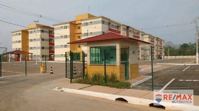 Apartamento com 2 dormitórios à venda, 45 m² por R$ 117.000 - Iranduba/AM - Foto 3