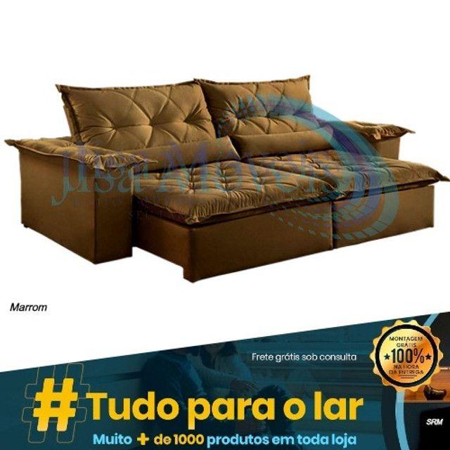 Sofá Retrátil Ouro Preto Plus - Foto 5