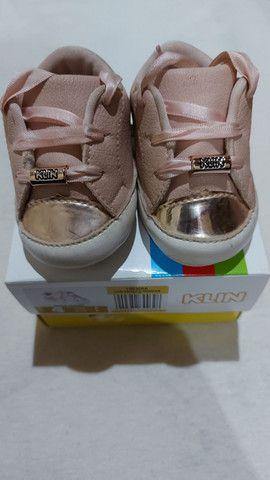 Kit 3 sapatos bebe