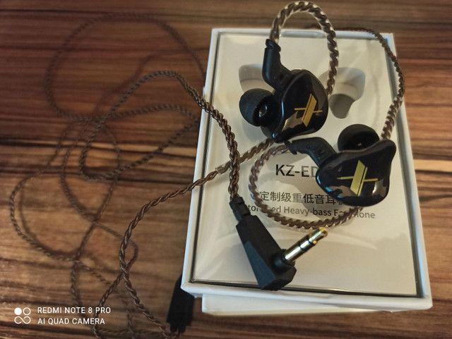 Fone In Ear Kz Edx 1dd Alta Fidelidade. - Foto 3