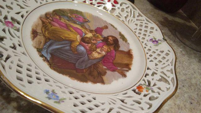 Belíssimo prato pintado a mão - Foto 5