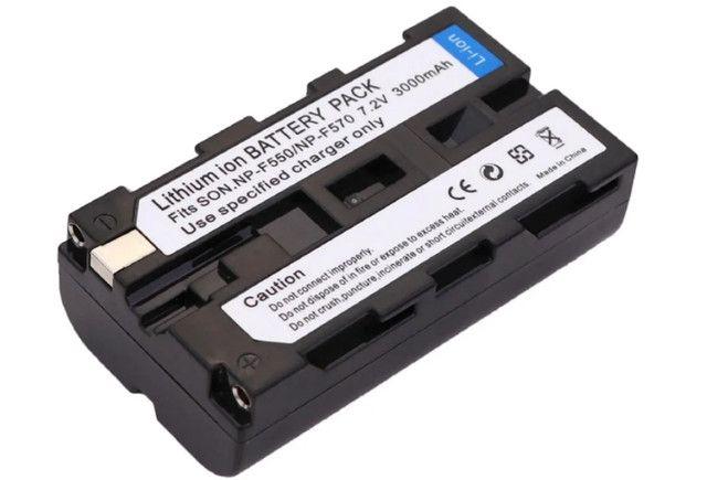 Bateria 3000 Mah Np-f550 Npf550 Np-f570 Camera Sony