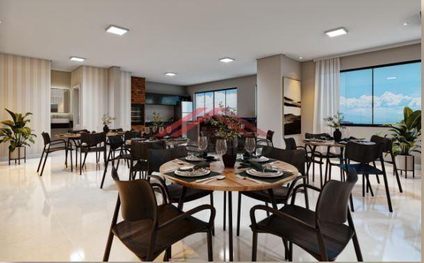 Lançamento! Apartamentos c/ 01 suíte + 01 quarto na Av. das Margaridas - Lot. São José - Foto 8