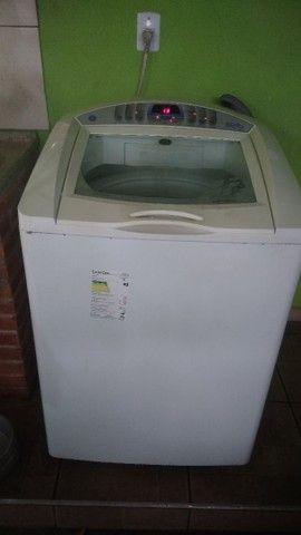 Lavadora maquina de lavar ge perfeita digital luxo