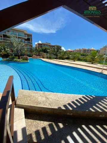 Apartamento com 5 dormitórios para alugar, 126 m² por R$ 4.000,00/mês - Porto das Dunas -  - Foto 18