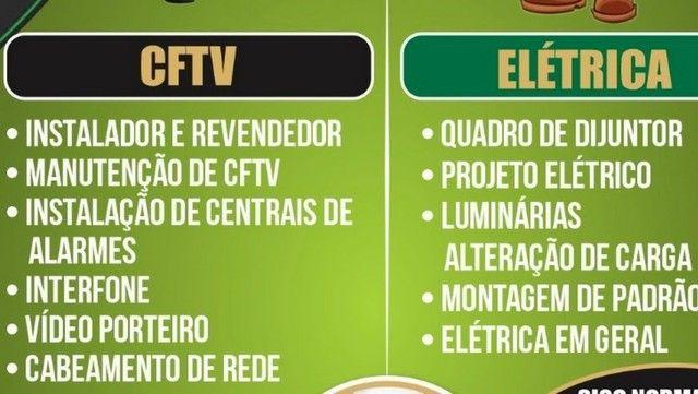 Antenista Receptor Eletricista Instalador CFTV - Foto 6