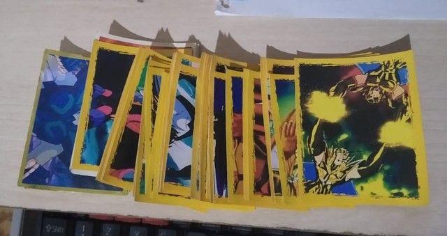 Figurinhas livro ilustrado 2 Os Cavaleiros do Zodíaco