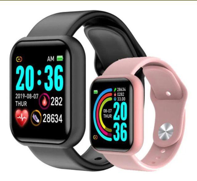 [PrOMOÇÃO] Smartwatch Relógio Inteligente D20/Y68 - Foto 5