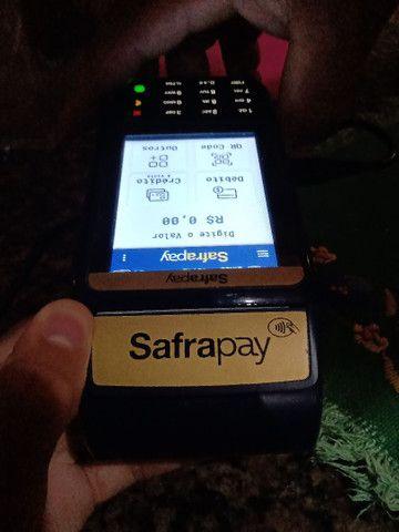 Vendo ou troco máquina safrapay por telefone  - Foto 3