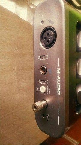 Interface de áudio M-áudio  - Foto 2
