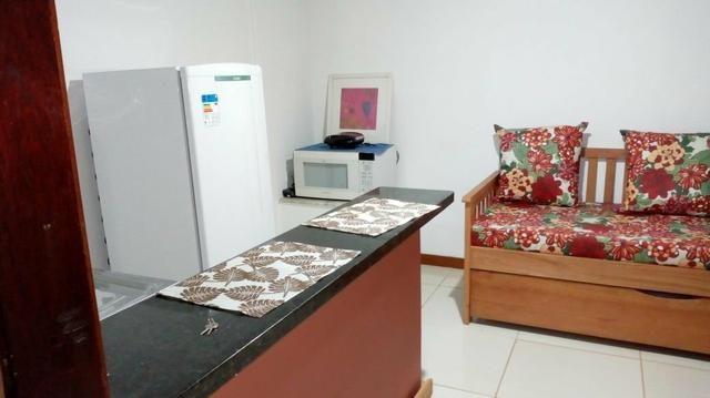 Suite Pontal Itacaré, quarto e sala mobiliado para temporada