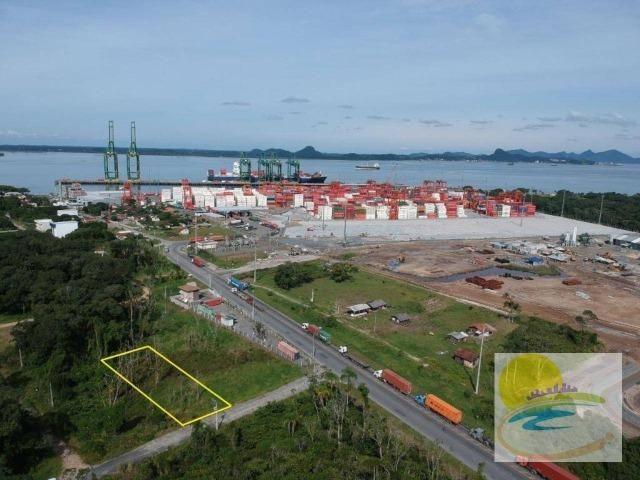 Terreno próximo ao Porto em Itapoá SC