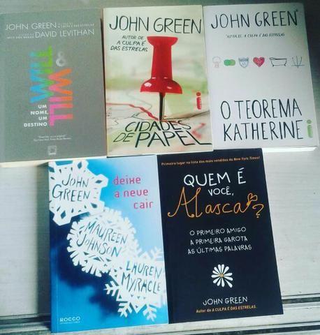 Coleção de livros John Green (Seminovos)